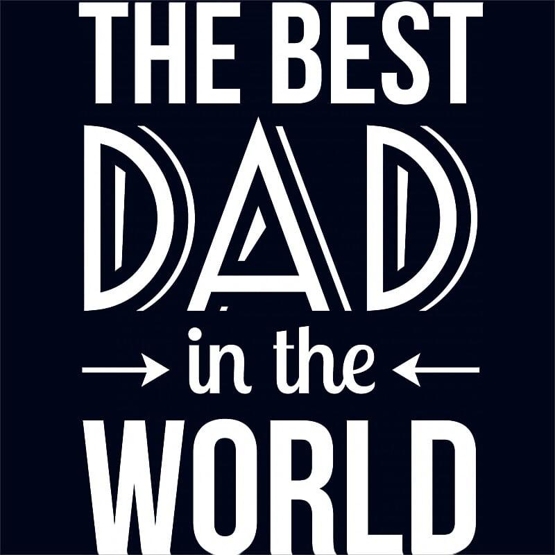 The Best Dad In The World Póló - Ha Family rajongó ezeket a pólókat tuti imádni fogod!