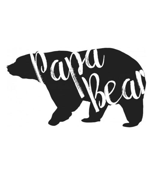Papa Bear Póló - Ha Family rajongó ezeket a pólókat tuti imádni fogod!