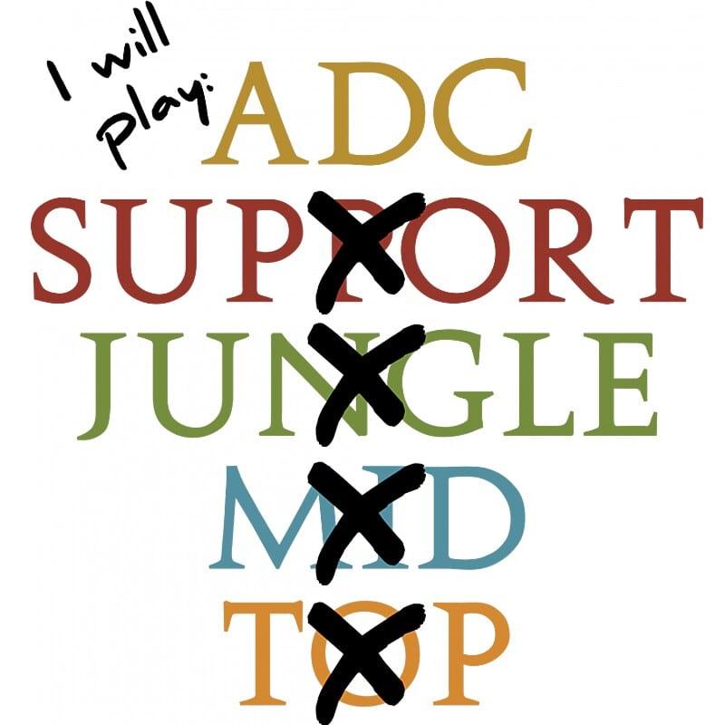 I Will Play Adc Póló - Ha Gamer rajongó ezeket a pólókat tuti imádni fogod!