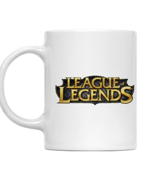 League Of Legends Logo Póló - Ha Gamer rajongó ezeket a pólókat tuti imádni fogod!