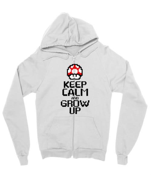 Keep Calm And Grow Up Póló - Ha Gamer rajongó ezeket a pólókat tuti imádni fogod!