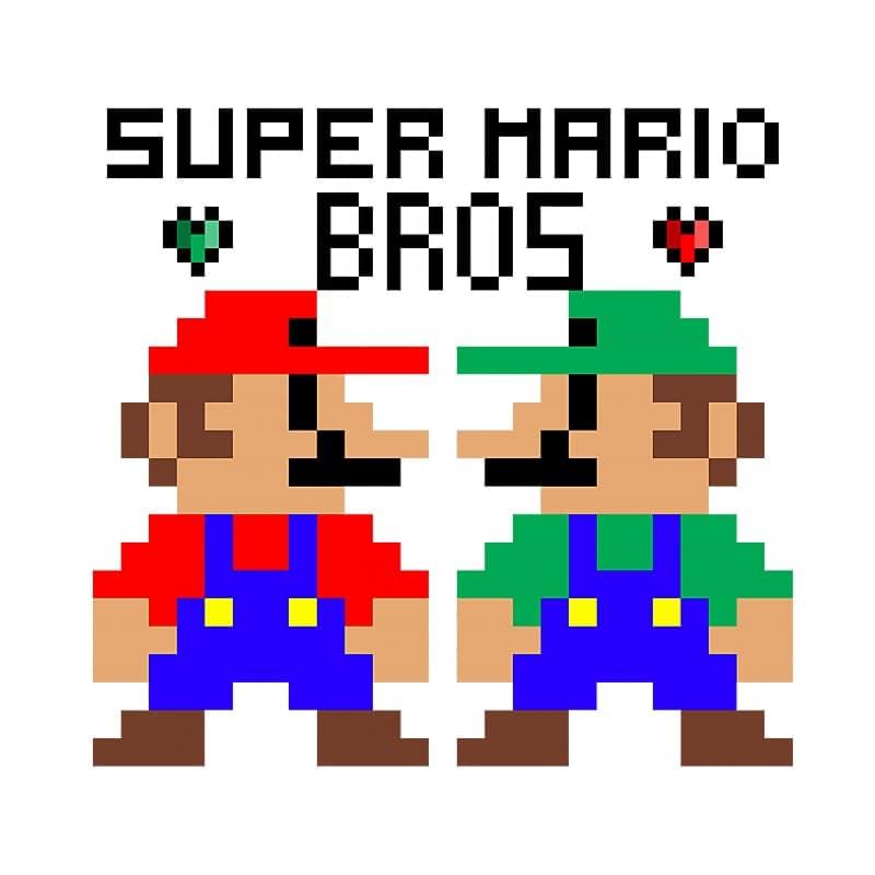 Super Mario Bros Póló - Ha Gamer rajongó ezeket a pólókat tuti imádni fogod!