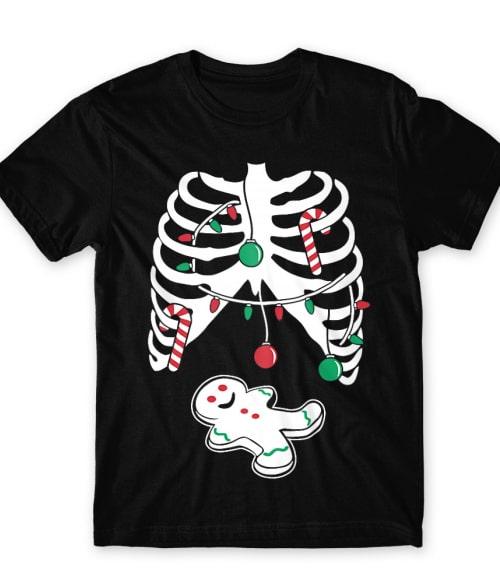 Christmas Skeleton Póló - Ha Christmas rajongó ezeket a pólókat tuti imádni fogod!