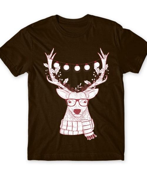 Hipster Szarvas Póló - Ha Christmas rajongó ezeket a pólókat tuti imádni fogod!