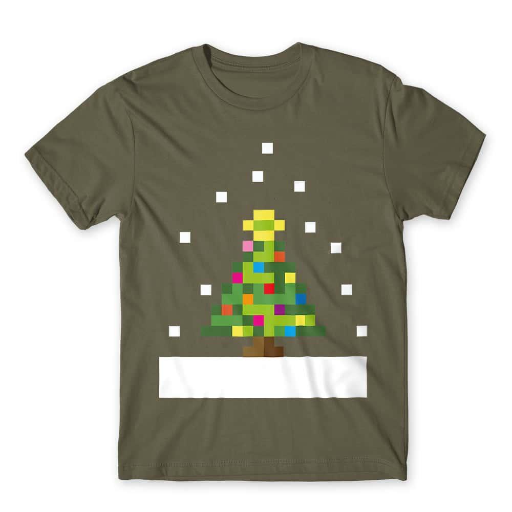 Pixel Christmas Tree Póló - Ha Christmas rajongó ezeket a pólókat tuti imádni fogod!