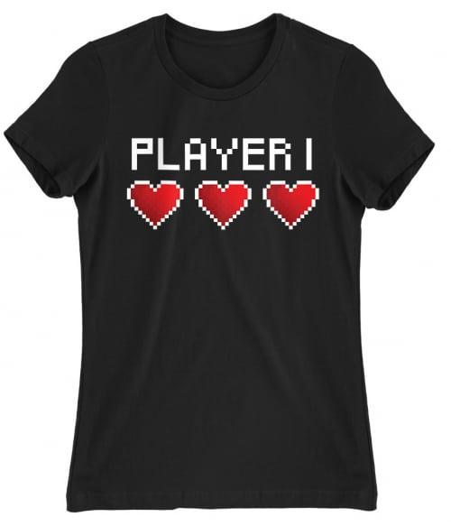 Player 1 Póló - Ha Couple rajongó ezeket a pólókat tuti imádni fogod!