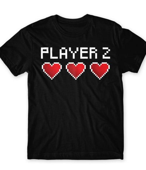 Player 2 Póló - Ha Couple rajongó ezeket a pólókat tuti imádni fogod!