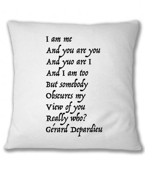 Gerard Depardieu idézet Póló - Ha Legends rajongó ezeket a pólókat tuti imádni fogod!