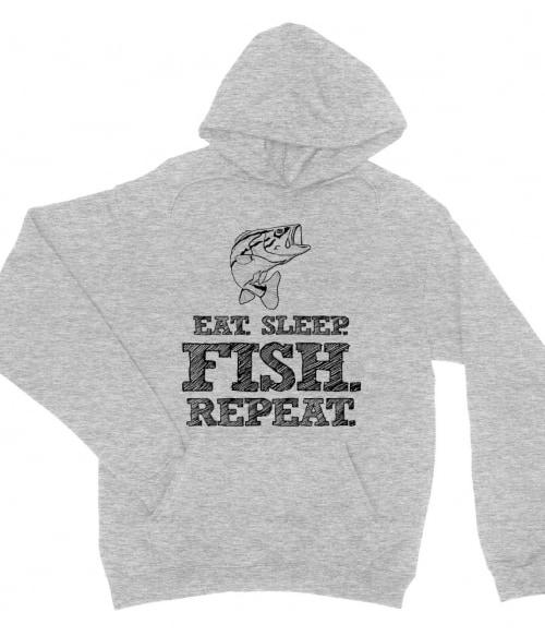Eat sleep fish Póló - Ha Hobby rajongó ezeket a pólókat tuti imádni fogod!