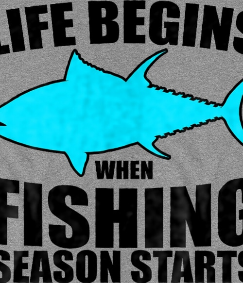 Fishing season Póló - Ha Hobby rajongó ezeket a pólókat tuti imádni fogod!