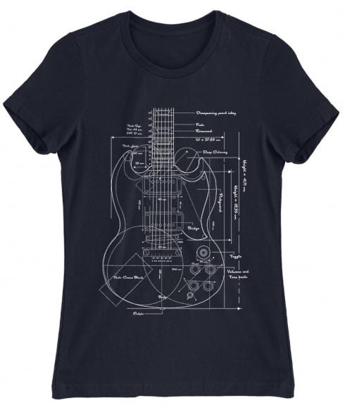 Gitár terv Póló - Ha Hobby rajongó ezeket a pólókat tuti imádni fogod!