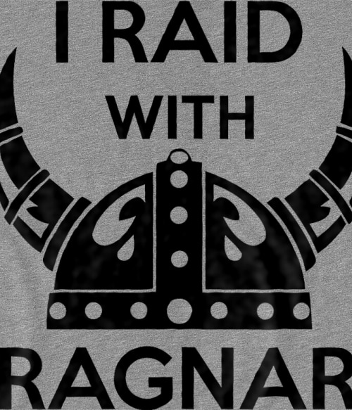 I raid with Ragnar Póló - Ha Vikings rajongó ezeket a pólókat tuti imádni fogod!