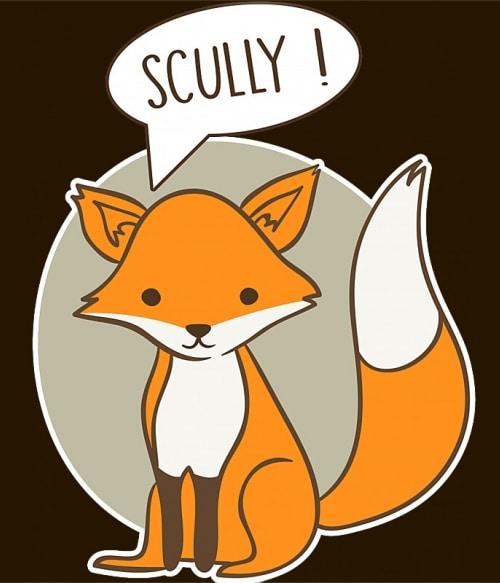 Scully fox Póló - Ha The X-Files rajongó ezeket a pólókat tuti imádni fogod!