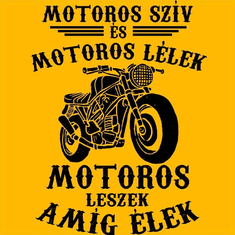 Motoros szív motoros lélek Póló - Ha Hobby rajongó ezeket a pólókat tuti imádni fogod!