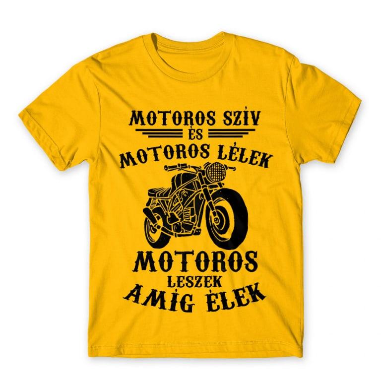 bc82633829 Motoros szív motoros lélek Póló - Hobby