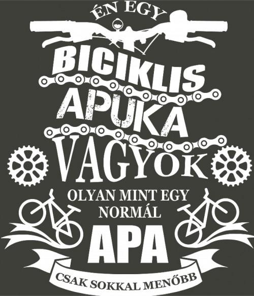 Biciklis apa Póló - Ha Hobby rajongó ezeket a pólókat tuti imádni fogod!