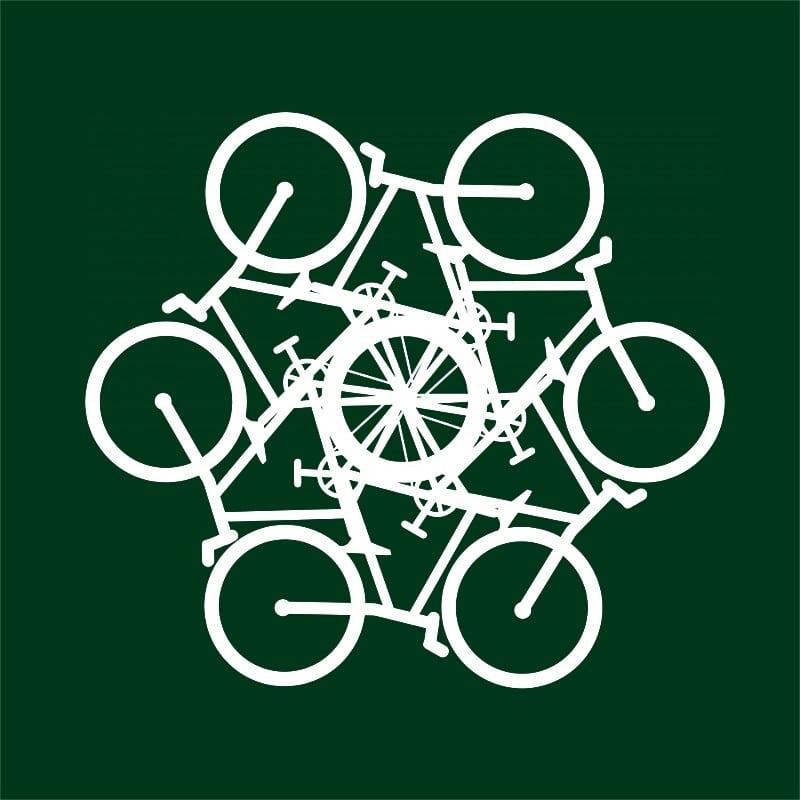 Bicycle mandala Póló - Ha Hobby rajongó ezeket a pólókat tuti imádni fogod!