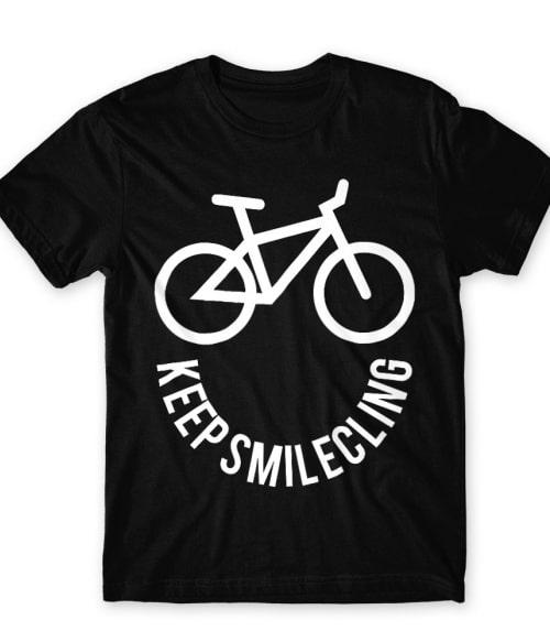 Keep smilecling Póló - Ha Hobby rajongó ezeket a pólókat tuti imádni fogod!