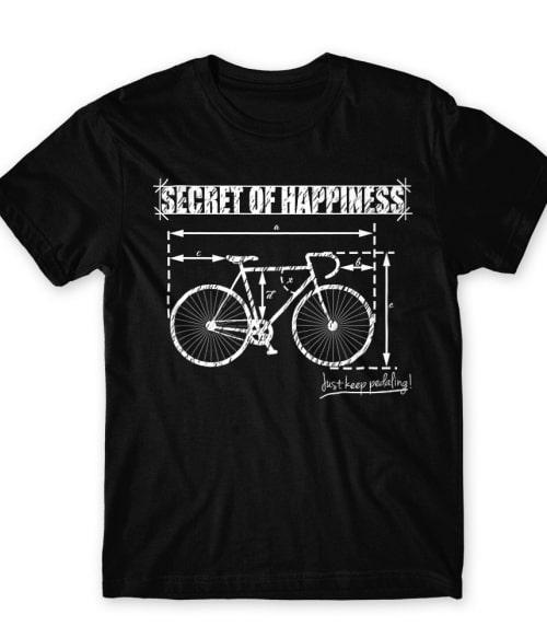 Secret of happiness Póló - Ha Hobby rajongó ezeket a pólókat tuti imádni fogod!