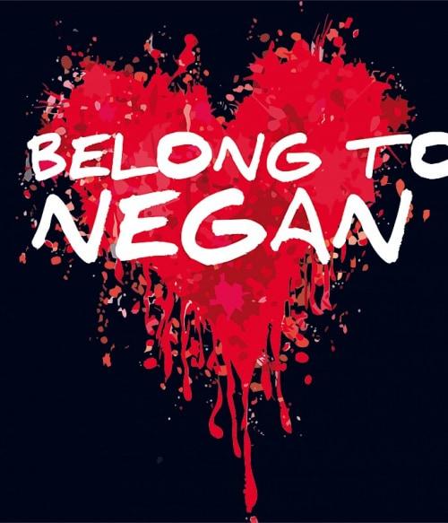 I belong to Negan Póló - Ha The Walking Dead rajongó ezeket a pólókat tuti imádni fogod!