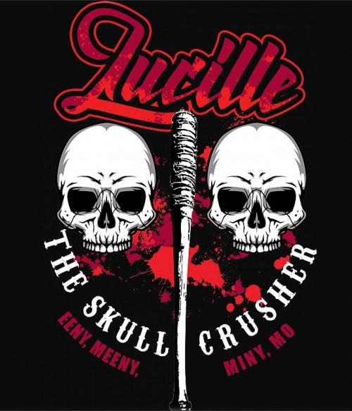 Lucille the skull crusher Póló - Ha The Walking Dead rajongó ezeket a pólókat tuti imádni fogod!