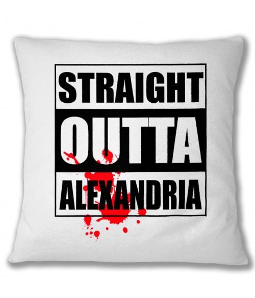 Straight outta Alexandria Póló - Ha The Walking Dead rajongó ezeket a pólókat tuti imádni fogod!