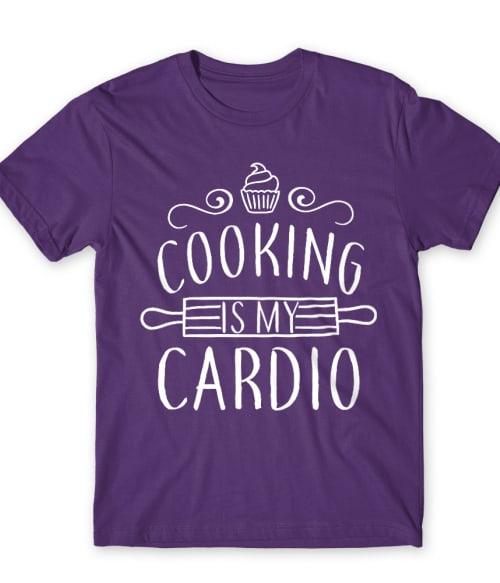Cooking is my cardio Póló - Ha Hobby rajongó ezeket a pólókat tuti imádni fogod!