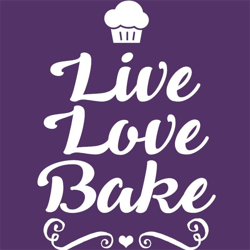 Live Love Bake Póló - Ha Hobby rajongó ezeket a pólókat tuti imádni fogod!