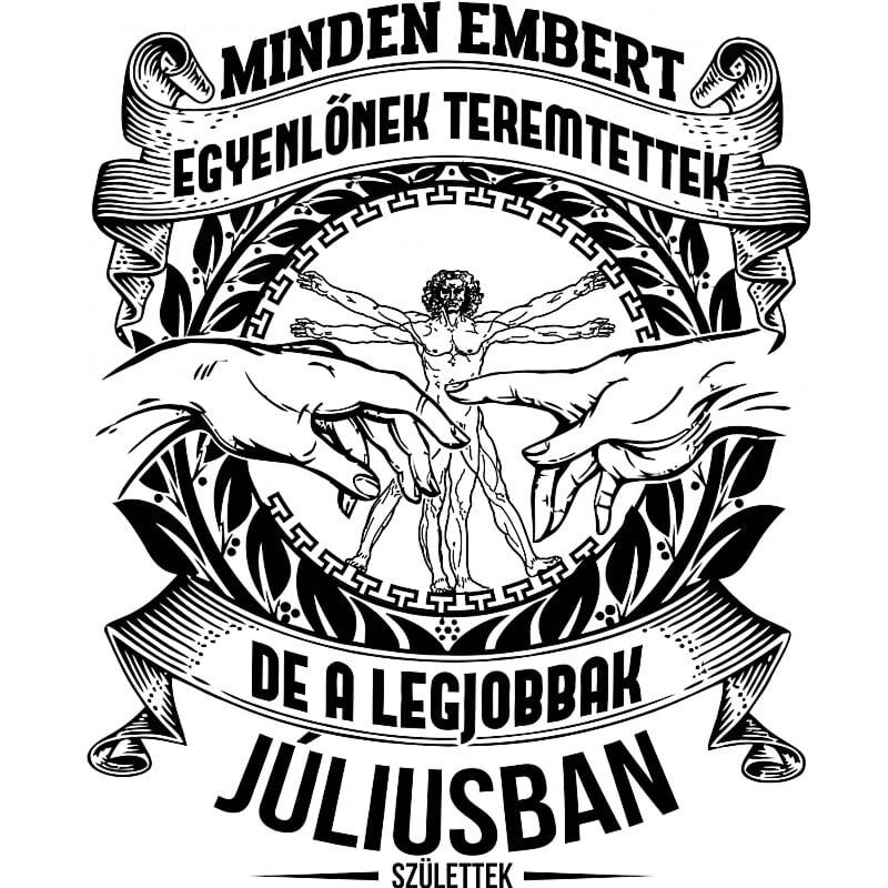 Da vinci Július Póló - Ha Birthday rajongó ezeket a pólókat tuti imádni fogod!