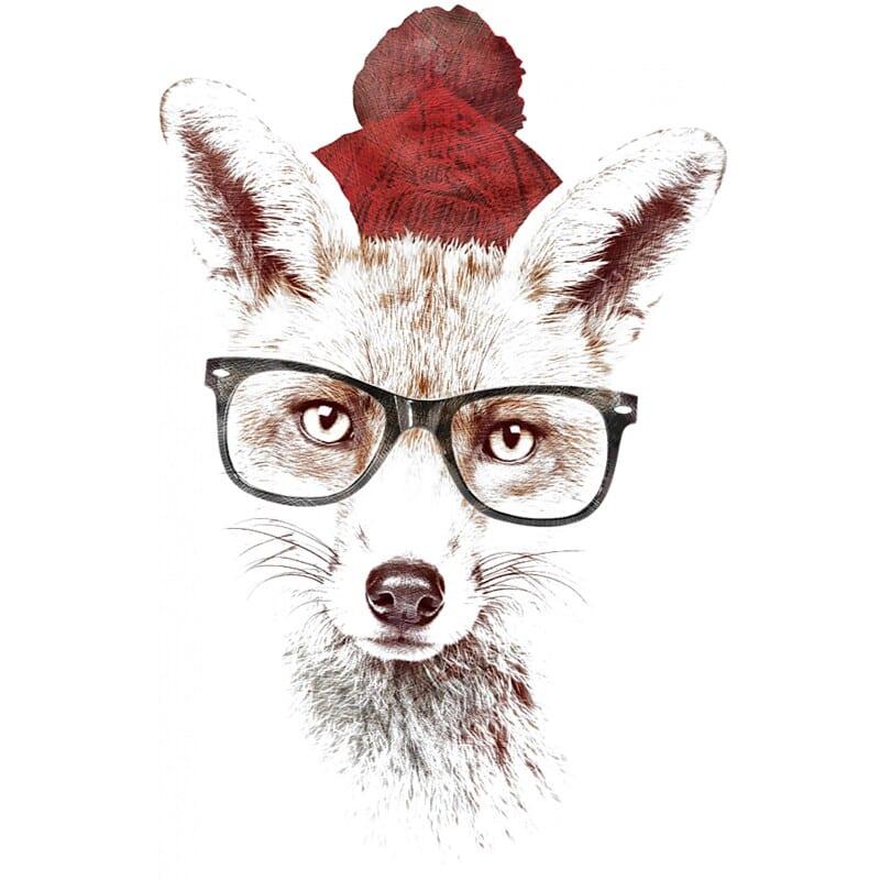 Hipster fox Póló - Ha Fox rajongó ezeket a pólókat tuti imádni fogod!
