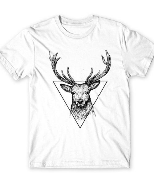 Deer in triangle Póló - Ha Deer rajongó ezeket a pólókat tuti imádni fogod!