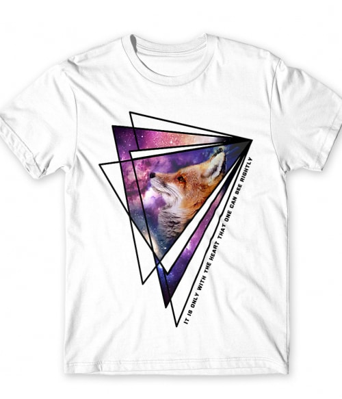 The Little Prince Fox Quote Galaxy Triangle Póló - Ha Dreams rajongó ezeket a pólókat tuti imádni fogod!