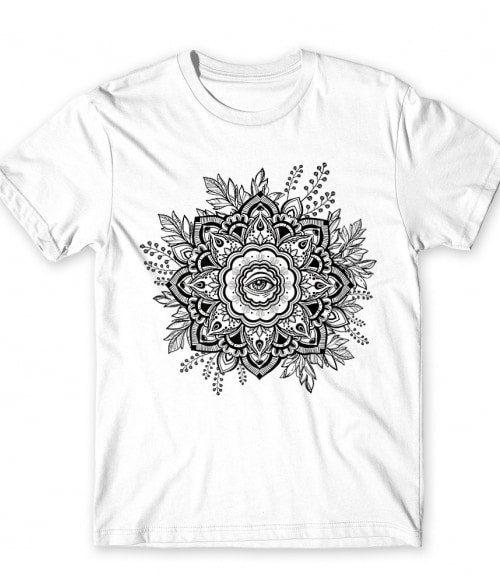 Mindent látó szem mandala Póló - Ha India rajongó ezeket a pólókat tuti imádni fogod!