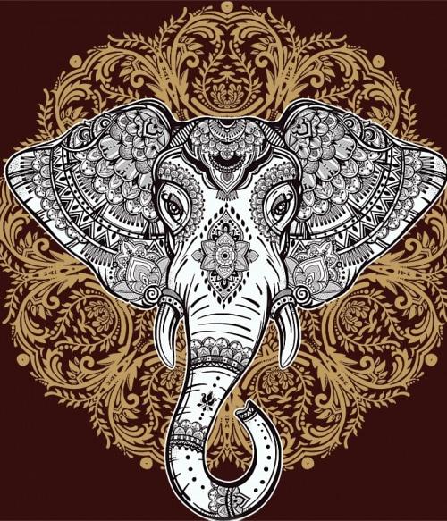 Boho Style Ganesa Póló - Ha India rajongó ezeket a pólókat tuti imádni fogod!