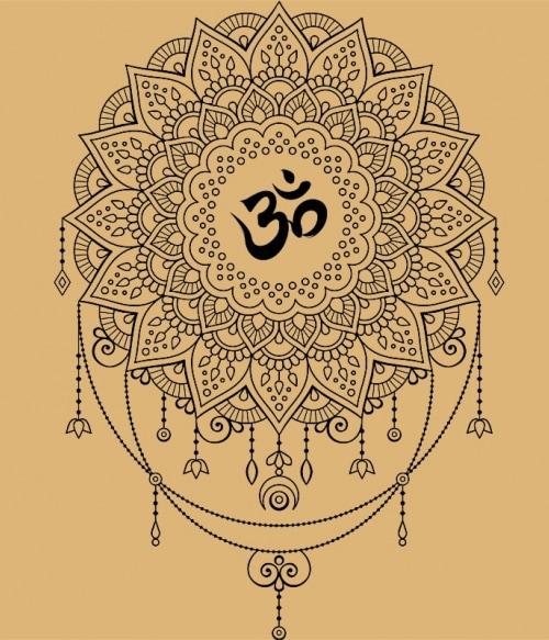 ohm in Mandala Póló - Ha India rajongó ezeket a pólókat tuti imádni fogod!