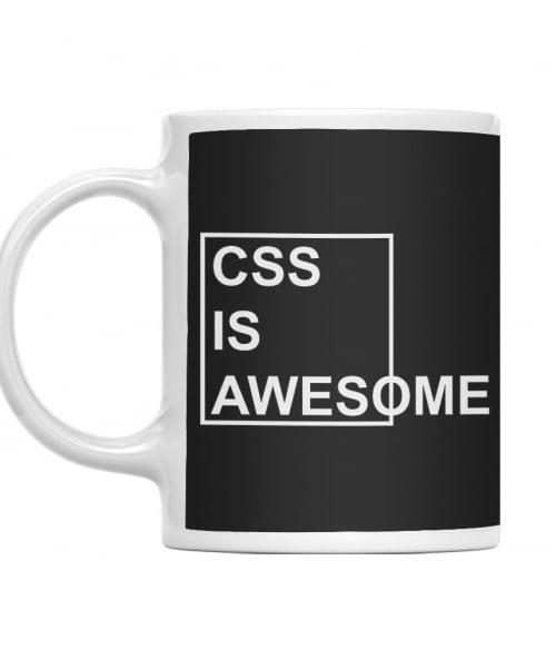 CSS is awesome Póló - Ha Programming rajongó ezeket a pólókat tuti imádni fogod!
