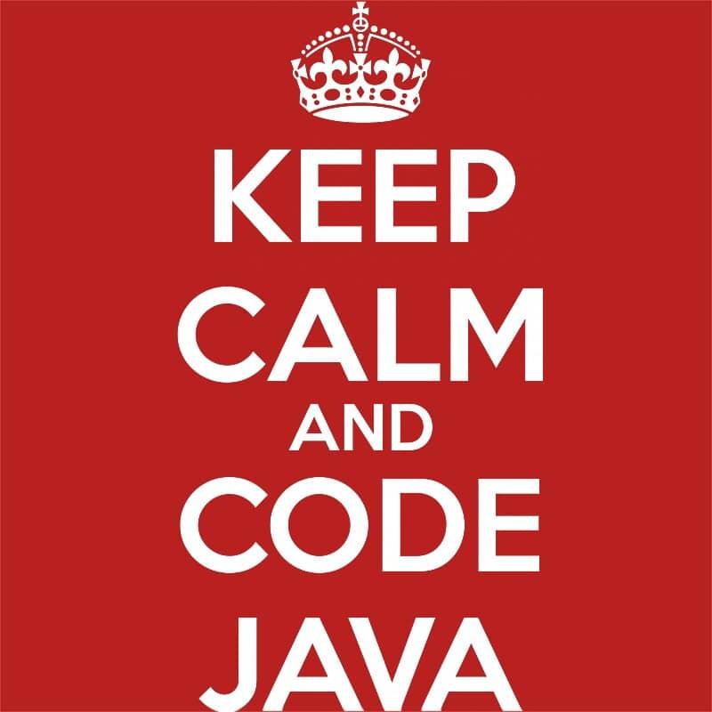 Keep calm and code Java Póló - Ha Programming rajongó ezeket a pólókat tuti imádni fogod!