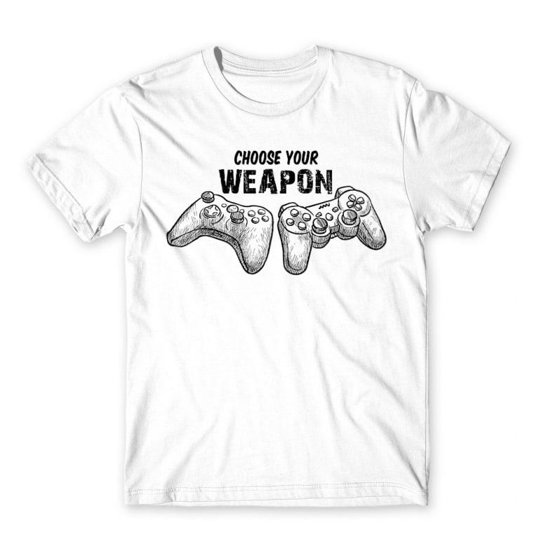 6a7e28d7c7 Choose your weapon Póló - Gamer