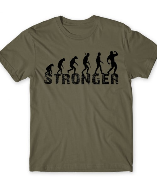 Stronger Evolution Póló - Ha Workout rajongó ezeket a pólókat tuti imádni fogod!