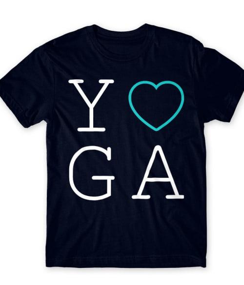 Yoga heart Póló - Ha Workout rajongó ezeket a pólókat tuti imádni fogod!