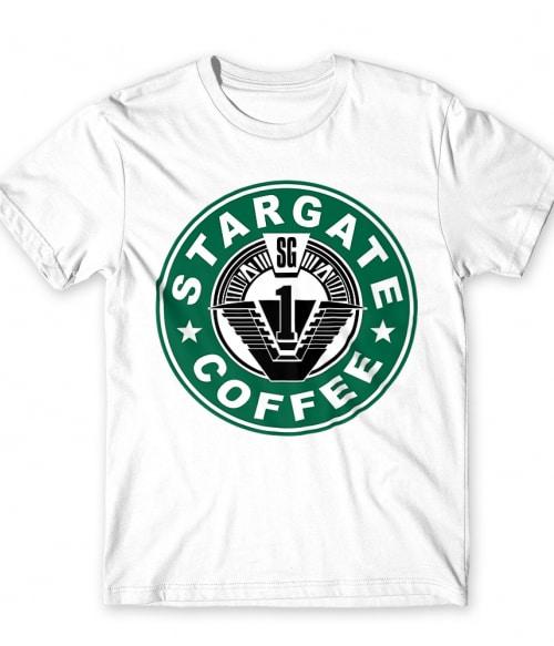 Stargate Coffee Póló - Ha Stargate rajongó ezeket a pólókat tuti imádni fogod!