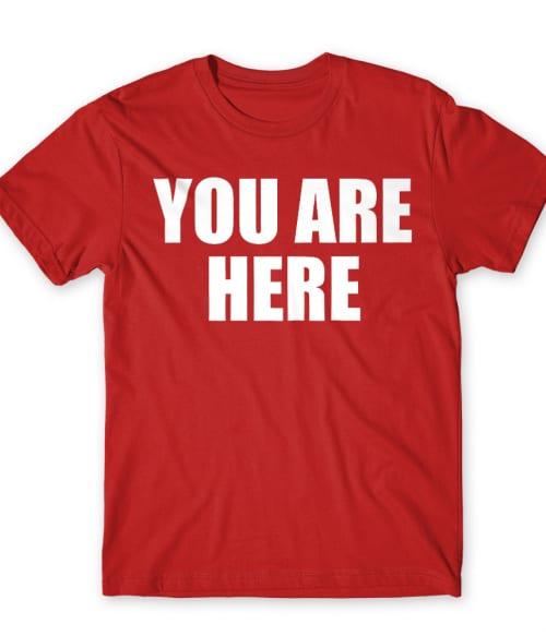Stargate you are here Póló - Ha Stargate rajongó ezeket a pólókat tuti imádni fogod!