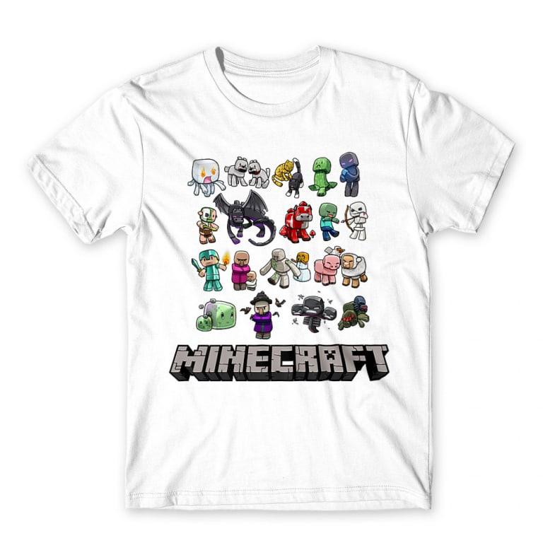 766b7ce717 Minecraft characters Póló - Minecraft