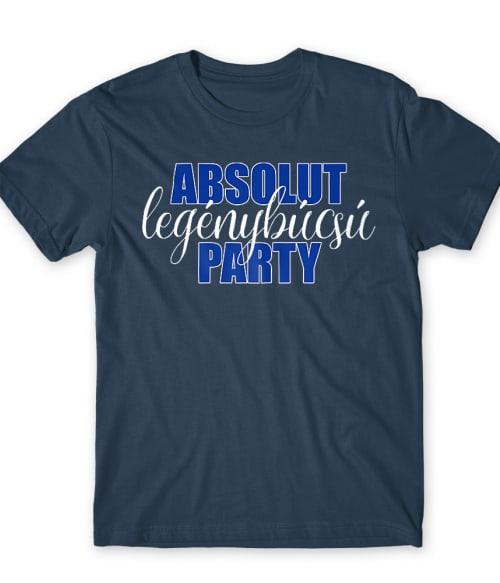 Absolut legénybúcsú party Póló - Ha Bachelor Party rajongó ezeket a pólókat tuti imádni fogod!