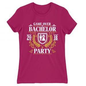 f02133a80c Bachelor party Game Over Póló - Bachelor Party