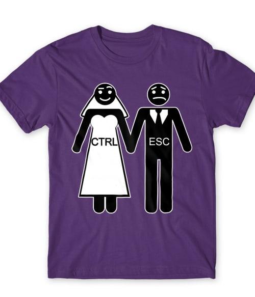 Ctrl Esc Póló - Ha Bachelor Party rajongó ezeket a pólókat tuti imádni fogod!