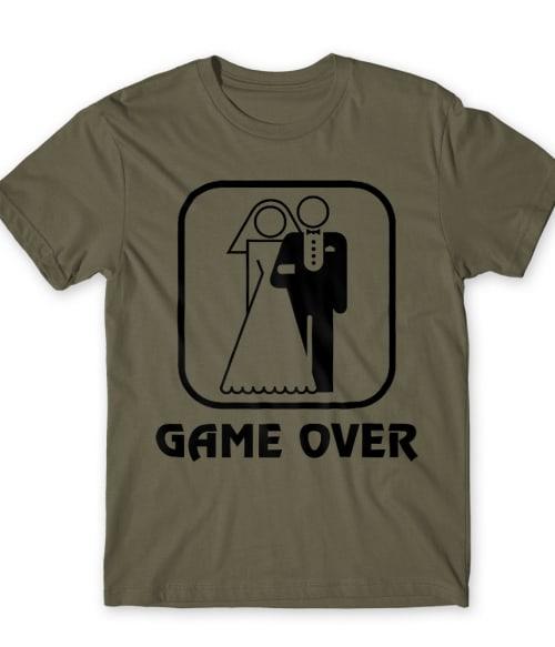 Game Over Logo Póló - Ha Bachelor Party rajongó ezeket a pólókat tuti imádni fogod!