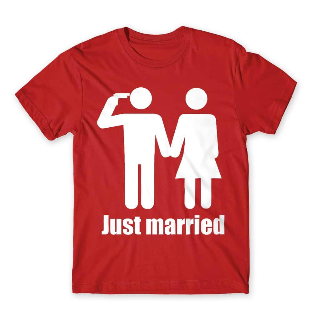 Just Married Póló - Ha Bachelor Party rajongó ezeket a pólókat tuti imádni fogod!