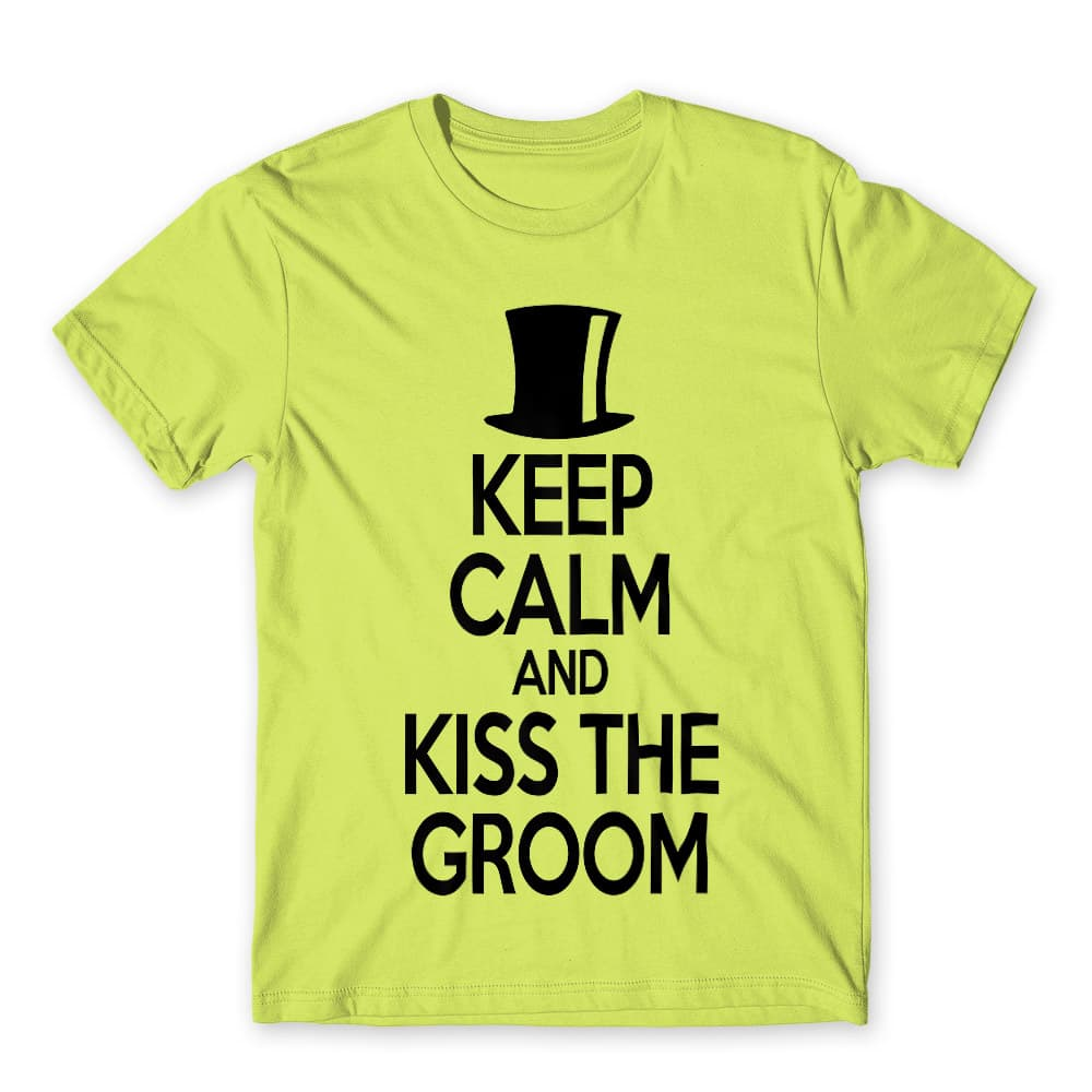 Keep Calm and Kiss the Groom Póló - Ha Bachelor Party rajongó ezeket a pólókat tuti imádni fogod!
