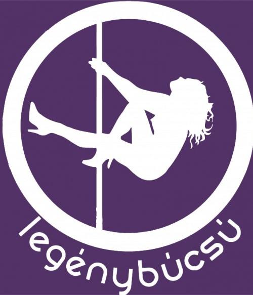 Rúdtáncos logó Póló - Ha Bachelor Party rajongó ezeket a pólókat tuti imádni fogod!